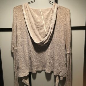 Abercrombie cardigan. Lightweight with a hoodie.